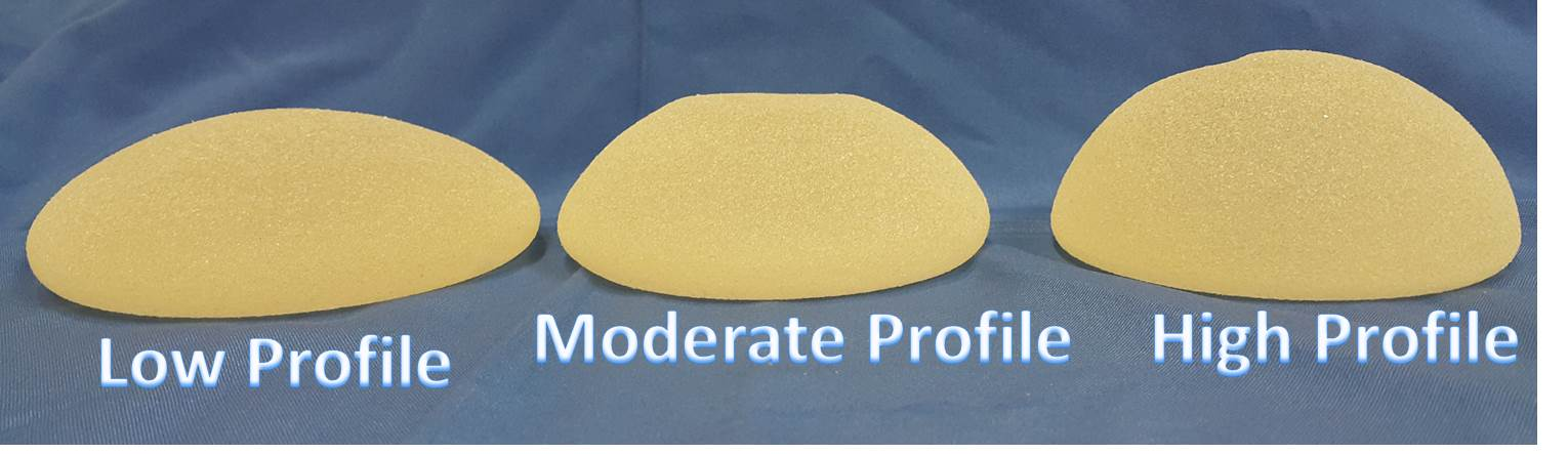 Differences between breast implant profiles